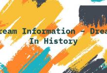Dream Information – Dream In History