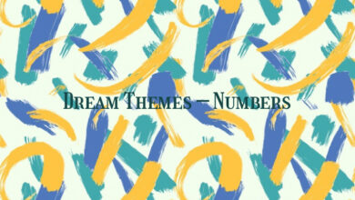 Dream Themes – Numbers