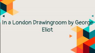 In a London Drawingroom by George Eliot