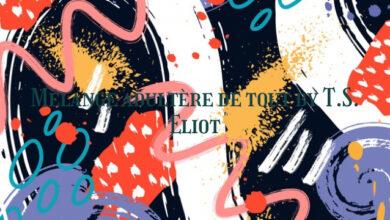 Mélange adultère de tout by T.S. Eliot