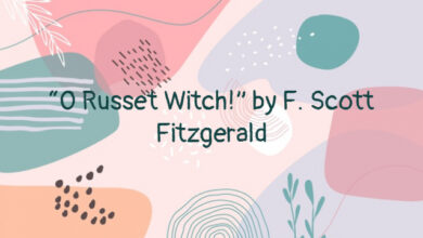 """""""O Russet Witch!"""" by F. Scott Fitzgerald"""
