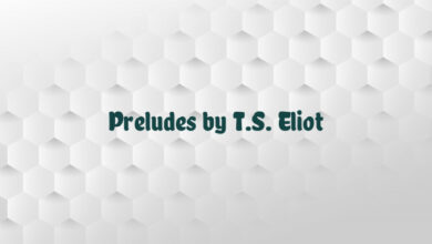 Preludes by T.S. Eliot