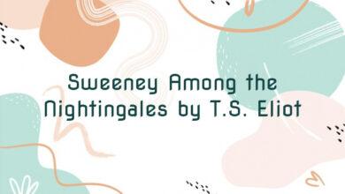 Sweeney Among the Nightingales by T.S. Eliot