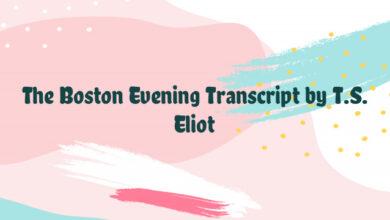 The Boston Evening Transcript by T.S. Eliot