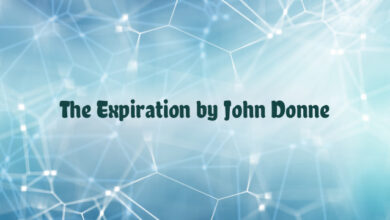The Expiration by John Donne