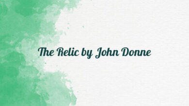 The Relic by John Donne